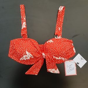 O'Neill Nicolette Tie Front Bikini Top